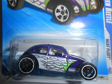 Hot Wheels 2009 Heat Fleet Series Custom Volkswagon Beetle #121 (Purple)
