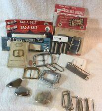 Sewing  Belt/Buckle Supplies
