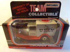Matchbox 1991 UNLV Runnin Rebels Basketball Model A Ford Truck - w/ opened box