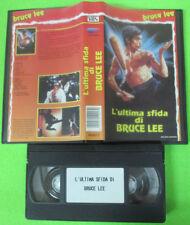 VHS film L'ULTIMA SFIDA DI BRUCE LEE 1982 Bruce Lee S03017 (F13) no dvd