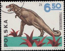 POLOGNE / POLAND - 1965 - Mi.1579 6,50Zl TYRANOSAURUS - Used (C.T.O.)