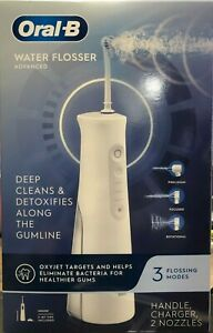 Oral-B Water Flosser Advanced Cordless Rechargeable Oxyjet Technology