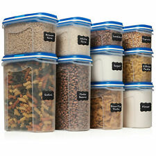 LARGE SET 20 pc Airtight Food Storage Containers w/Lids(10 Container Set) $29.99