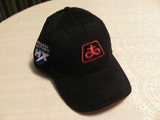 NEW Pioneer Baseball Hat Liberty Links HX Herculex Insect Black Red Trim Cap