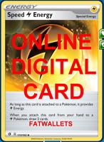 4X Speed Lightning Energy 173/192 Rebel Clash Pokemon TCG Online Digital Card