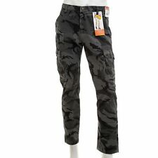 WRANGLER  Men's Regular Taper Camo Cargo Pants