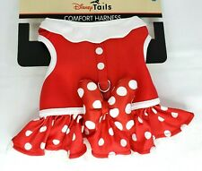 NEW Disney Parks Tails Minnie Mouse Costume Harness for Dog M Medium New