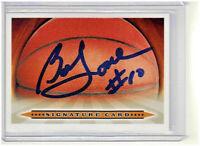 Bob Love Autographed Basketball Signature Card