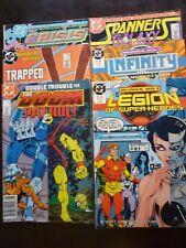 DC Comics Assorted Lot of 6 Comics 1985 and 1988 - Doom Patrol   Spanners Galaxy