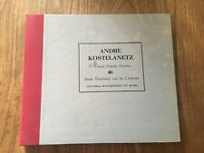 Vintage 78 RPM Records- ANDRE KOSTELANETZ- Musical Comedy- mid century