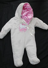 Baby Girl Hello Kitty Hooded Pram Ivory Pink Size 3-6 months nwot #172