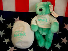 HRC Hard Rock Cafe Osaka Spring 2003 Easter Egg Bear 10`` LE Herrington Li Green