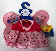 Build A Bear Workshop Heart Tulle Fairy Dress BABW For 16 Inch Bear Hearts 💕❤️