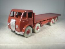 Dinky Toy Foden 8 Wheel Flat Truck #502 FIRST GRILL