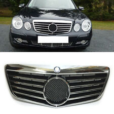 Fit For Mercedes-Benz E CLASS/W211 2006-2009 Front Grill Grille Refit
