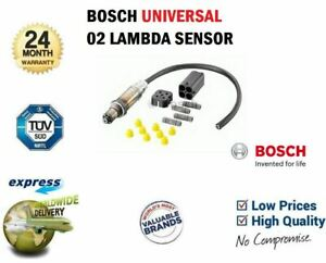 BOSCH LAMBDA SENSOR for FORD GRANADA Mk III Estate 2.4 i 1991-1994