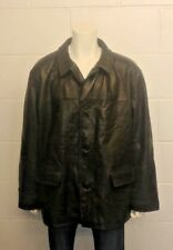 Ralph Lauren Polo Quality 100% Leather Jacket with Wool Blend lining for warmth