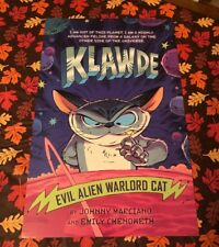Klawde Evil Alien Warlord Cat Poster Nycc Comic Con Exclusive Johnny Marciano