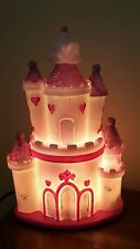 Delightful Pink Princess Castle Table Lamp/Girls Bedroom Night Light
