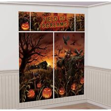 Field of Screams Scene Setters Wall Halloween Decoration Kit (A670452)