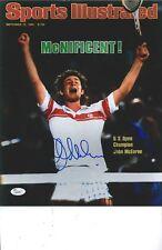 John McEnroe signed  11x14 photo JSA COA