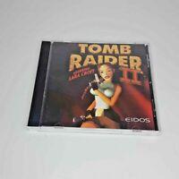 Tomb Raider II Lara Croft PC CD-ROM Game 1997 Shooter Eidos