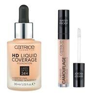 CATRICE HD Liquid Coverage Foundition 24h 030 + Liquid Camouflage Concealer 010