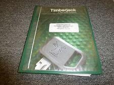 Timberjack Timbermatic 300 Control Measuring System Owner Operator Manual 150502