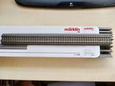 MÄRKLIN H0 C Gleis Gerade 360mm 10x24360 TOP/OVP