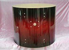 "PDP by DW 22"" BASS DRUM SHELL RED - BLACK SPARKLE BURST for YOUR DRUM SET! #Z10"