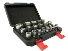 ADW Steckschlüsselsatz Torx Gear Lock 1/2 Nuss 19tlg  Steckschlüssel Satz 8-32mm