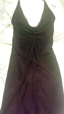 Jim HJELM Eggplant Bridesmaid Dress - Size 10 Women