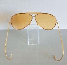 RayBan Shooter Vintage Pilotenbrille, 12 Karat vergoldet 70er Jahre