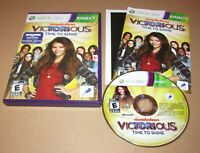 Victorious: Time to Shine for Xbox 360 Kinect Complete Fast Shipping!