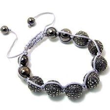 Unisex Bling Bracelet - DISCO BALL HALF hem