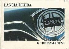 LANCIA DEDRA Betriebsanleitung 1997 835 Bedienungsanleitung Handbuch Bordbuch BA
