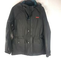 Stearns Dry Wear Jacket with Hood and Pants Black Small Rain Coat