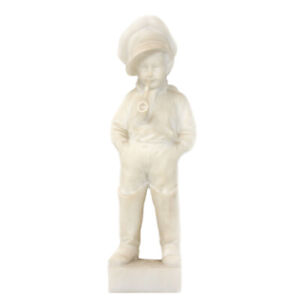 Carrara Marble Boy Figure