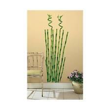großer Wandsticker Wandbild Bambus Wandtattoo Bamboo Wanddeko Baum pflanze