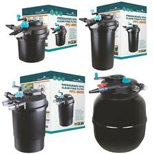 More details for pressurised koi pond filter uv steriliser kits - all in one - ponds up to 50000l