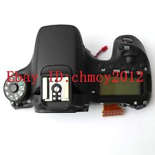 Original NEW LCD Top cover / head Flash Shell for Canon EOS 70D Digital Camera