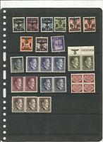 TOP NEEWS .A SAISIR .très belle collection de timbres REICH .mnh très belle cote