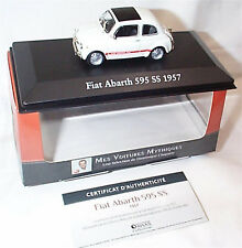 FIAT ABARTH 595 SS MODEL CAR 1:43 SCALE 1957 IXO ATLAS 2891017 VOITURES MYTHIQUE
