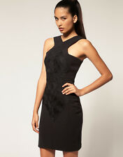 AQ/AQ Aqua Crawford Embroidered Mini Dress UK 8. US 4. EU 36  RRP:£135 New!!
