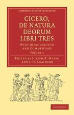 Cicero, de Natura Deorum Libri Tres: With Introduction and Commentary (Paperback