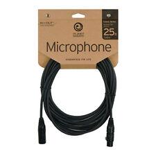 D'Addario Classic Series 25' Microphone Lead - XLR/XLR - PW-CMIC-25