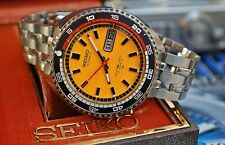 SEIKO 7006-8030 RALLY AUTOMATIC GENTS VINTAGE WATCH IN BOX c1970's-STUNNING!