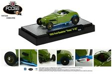 GREEN 1932 FORD ROADSTER CHIP FOOSE DESIGN M2 MACHINES 1:64 SCALE DIECAST CAR