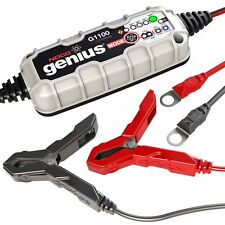 Motorcycle Noco Genius G1100 Battery Charger - Motorbike - 6v / 12v 1.1A Lithium