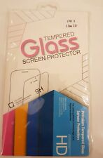 Tempered Glass Screen For iPhone 6 Plus, iPhone 6S Plus, iPhone 7 Plus- 9H Hard